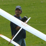 100502 MIke Fox with Rusty Shaws plane 002e