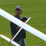 100502 MIke Fox with Rusty Shaws plane 002e