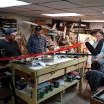 20150221 SOAR club meeting at Richard Burnoski basement (8)